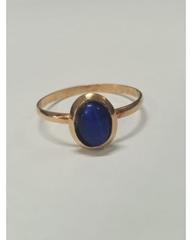 anillo de oro-14 kt.